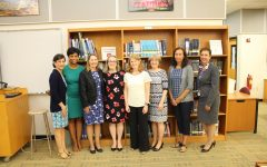 Pelham Board of Education and principals honor five retirees