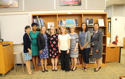 Pelham Board of Education and principals honor five retirees