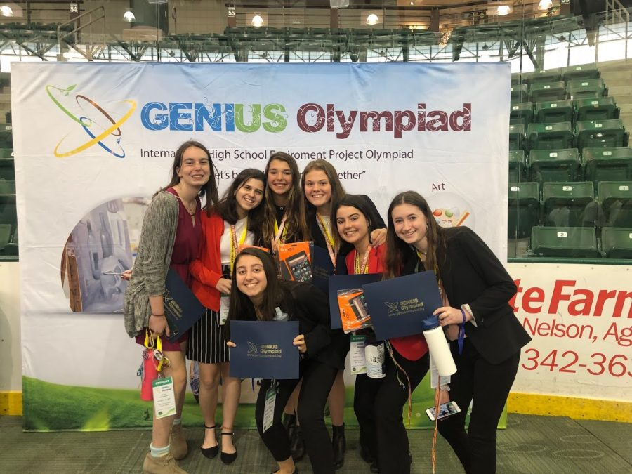 18 PMHS science research program students win awards at GENIUS Olympiad