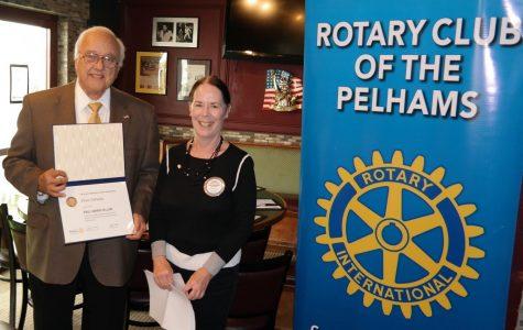 Pelham Supervisor Peter DiPaola honored as Paul Harris Fellow by Rotary Club of the Pelhams