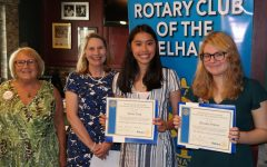 Rotary Scholars of the Month: PMHS seniors Alyssa Wong and Elizabeth Walters