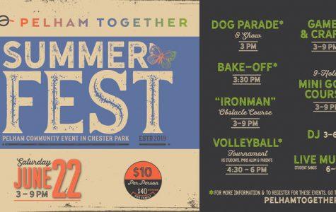 Pelham Together's SummerFest 2019 to offer dog show, mini-golf, volleyball, DJ on Saturday