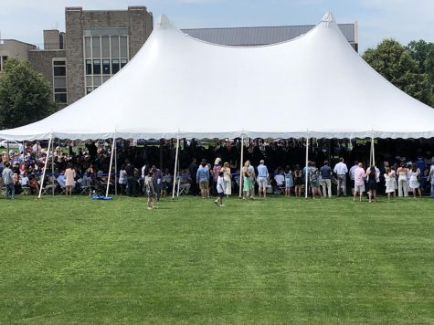 PMHS graduation ceremonies, 2019.