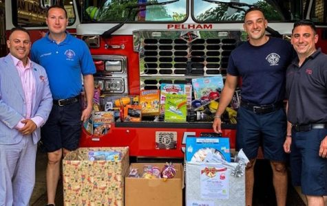 Pelham firefighters, KofC kick off 'Christmas in July' toy drive