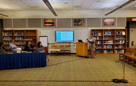 At final school board meeting of year, Superintendent Champ gives year-end report, reviews new strategic plan