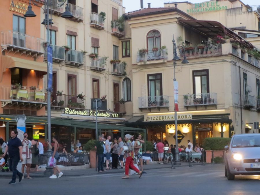 Sorrento in Italy offers cliffs towering over sea, antique shops and easy access to Pompeii and hiking