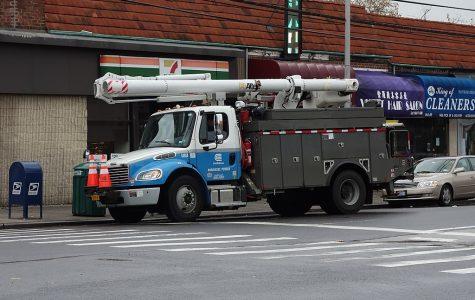 File photo of Con Ed truck.