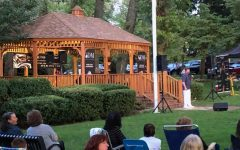 Town of Pelham Summer Concert Series ends with trio entertaining crowd in front of gazebo