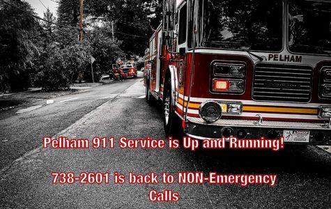 911 service is restored in Pelham