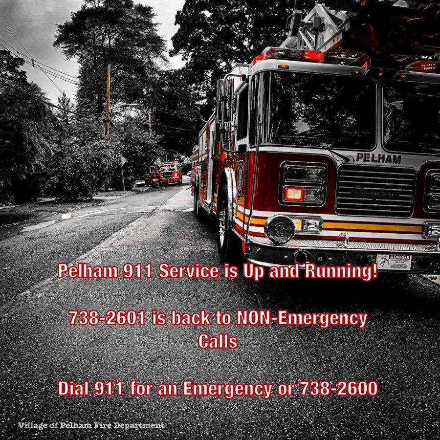 911 service is restored in Pelham – Pelham Examiner