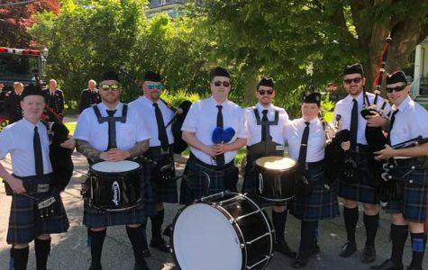 Pelham Regional Pipe Band.