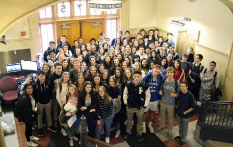 106 juniors and seniors inducted into PMHS National Honor Society