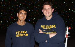 PMHS alumni Chris Russo and T.J. Hurd fill homes with holiday cheer with their Pelham Lights