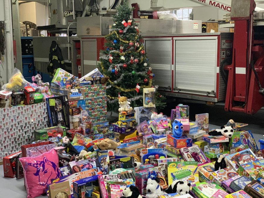 Pelham Manor firefighters again collect food, toys for Hope Soup Kitchen, Maria Fareri Children's Hospital