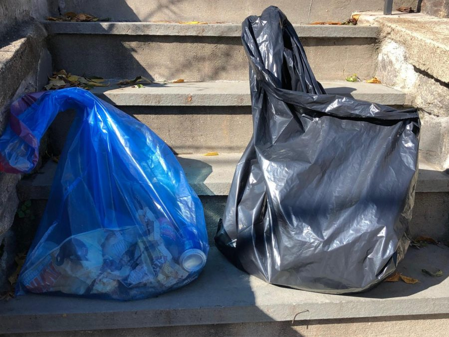 EcoPel Town Cleanup brought families out Saturday to pick up Halloween candy wrappers, other trash