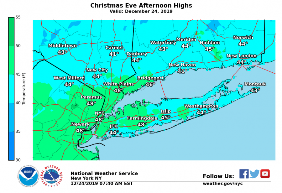 National Weather Service Radar Clear Forecast For Cool Dry Christmas Day In Low 40s Pelham Examiner