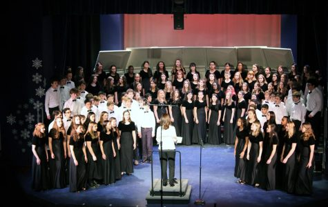 Foto Feature: PMHS orchestra, band and chorus winter concerts