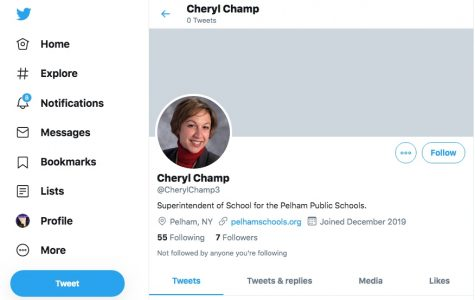 Fake Twitter account messages followers of Superintendent Champ