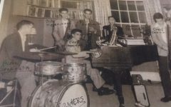 Snapshot: Local band rehearses for mid-1950s Community Chest fundraiser
