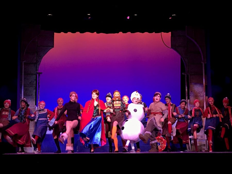 Foto Feature: Rehearsals for PMS Drama Clubs production of Frozen Jr.—which runs Thursday to Sunday