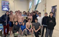 PMHS boys' swim team goes undefeated, winning first league title in program history