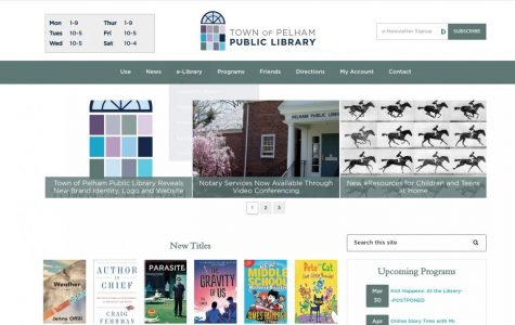 Pelham Public Library unveils new brand identity and website