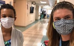 Pelham sewing community stitches medical masks to support local hospitals