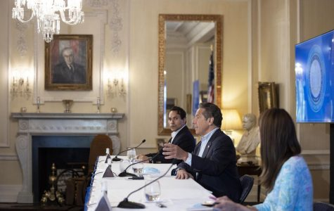 Gov. Andrew Cuomo spoke during his Saturday briefing.