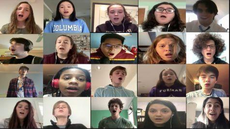 Video: PMHS chorus sings