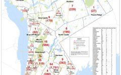 Westchester reports Covid-19 cases by municipality: Pelham Manor 102, Pelham 159