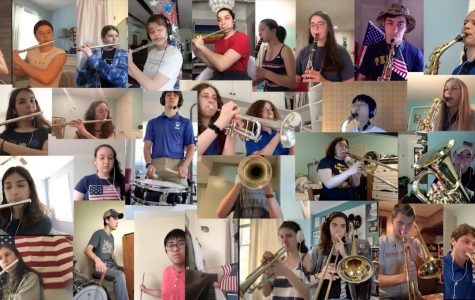 Video: PMHS band records 'Armed Forces Medley' for Memorial Day