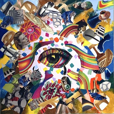 Eye of the Storm collage by Anthony Cardillo.