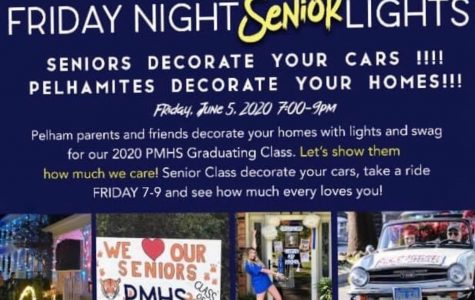 Friday Night Senior Lights to honor class of 2020