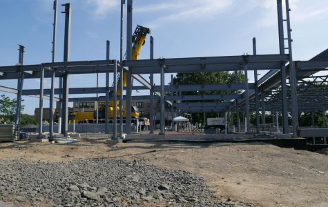Foto Feature: Hutch rising, as steel frame of new school forms
