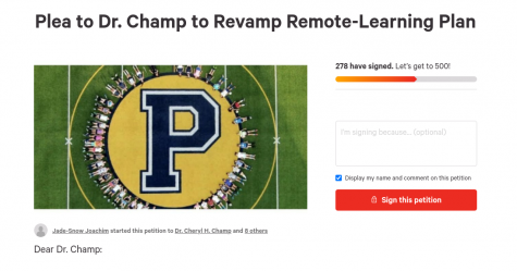 Petition asking school superintendent to improve remote-learning plans gains 299 signatures