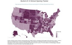 More than half of K-12 students in U.S. will start year online, says Burbio.com survey