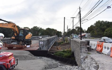 Foto Feature: East Lincoln Avenue temporary bridge