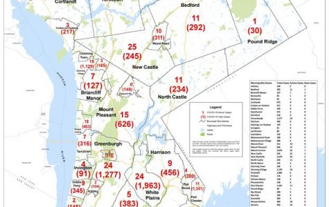 Westchester reports Covid-19 cases by municipality: Pelham Manor 128, Pelham 176