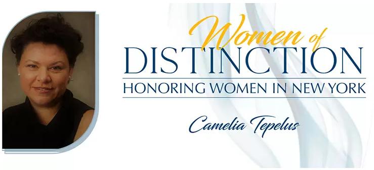 Bronx's Camelia Tepelus to be recognized in New York's Women of Distinction Program