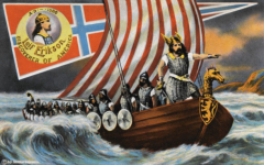 Leif Erikson Discovers America, 1000 AD
