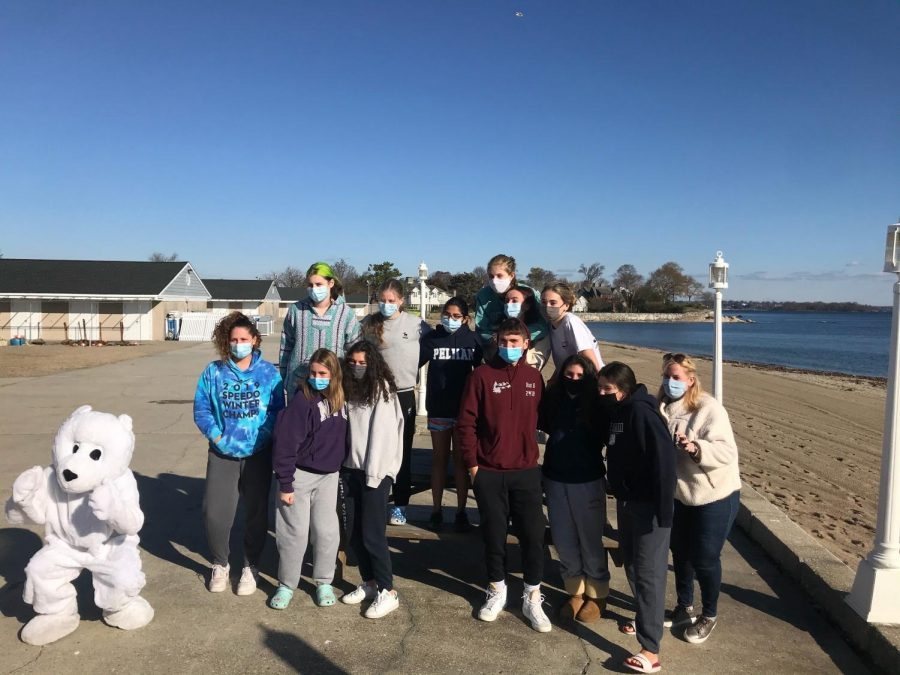 Foto Feature: PMHS students brave cold with Polar Plunge for NY Special Olympics