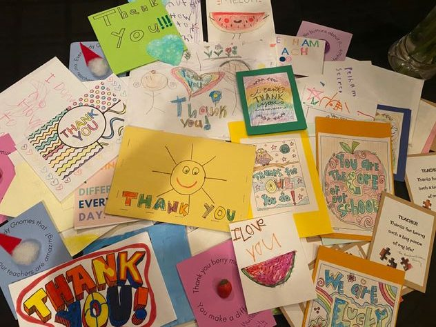 PTA, Pelham Together campaign organizes 750 student Letters of Gratitude to faculty and staff