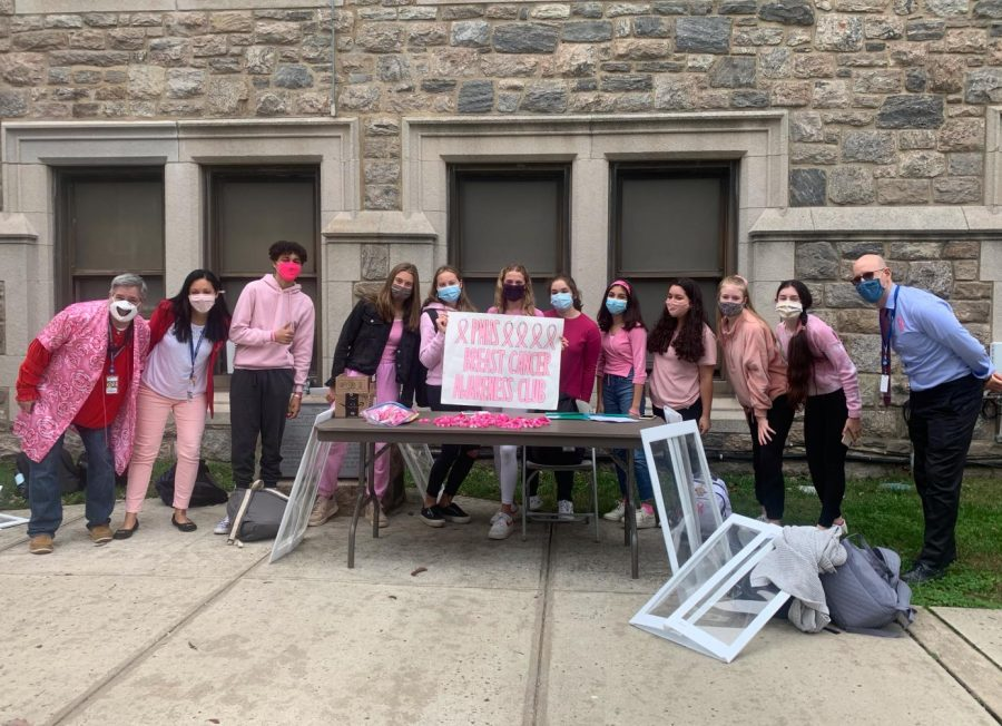 PMHS Breast Cancer Awareness Club raises $3,000 in current effort, plans others