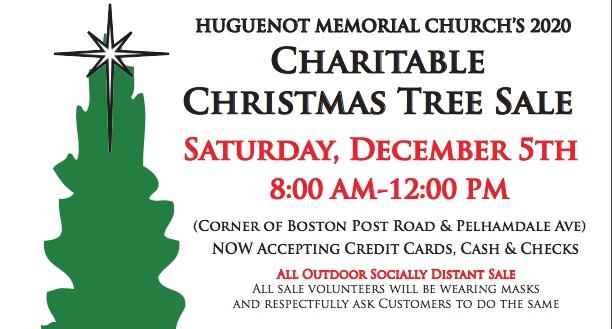 Huguenot Memorial's Christmas tree sale Dec. 5 to benefit charities