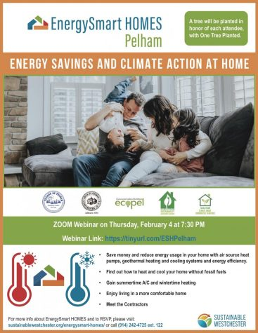 Town supervisor, Pelham mayor to speak at webinar on making homes energy efficient and climate friendly