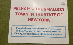 One side of the flyer sent by former Pelham Town Supervisor Michael Treanor.