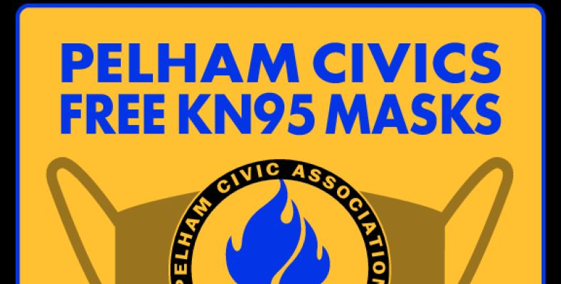 Pelham Civics to distribute free KN95 masks Saturday at PMHS parking lot