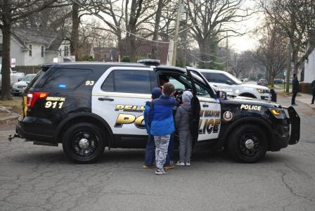 Duty to Country: Pelham Pack 4 Wolf Den visits with Pelham Manor police chief and PD