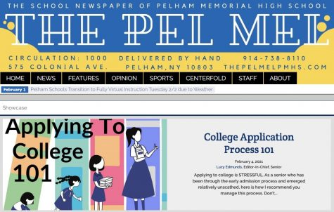 The website of the Pel Mel, the student newspaper of Pelham Memorial High School.