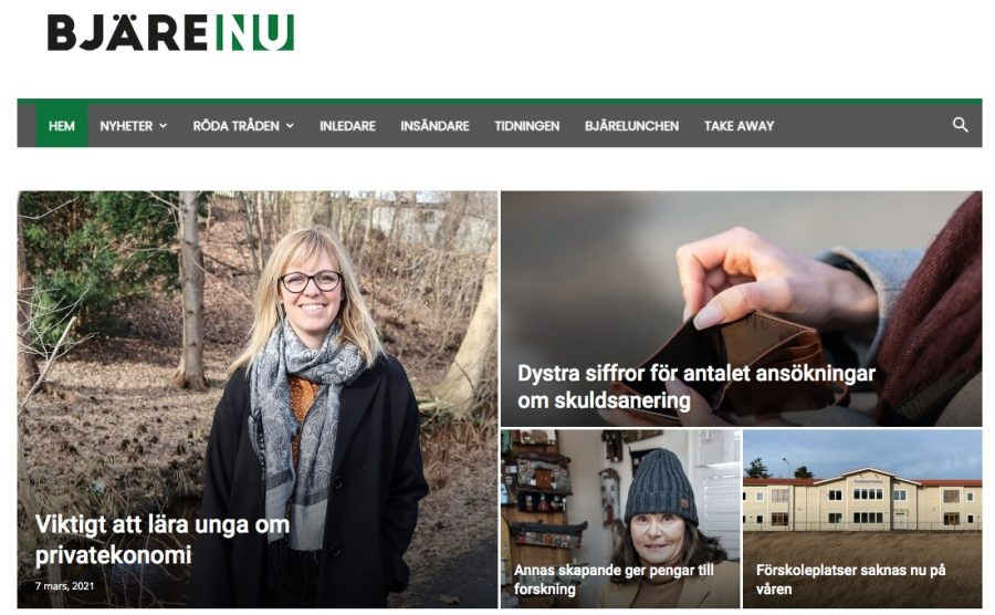 Swedish newspaper to follow Pelham Examiner model for publishing community paper